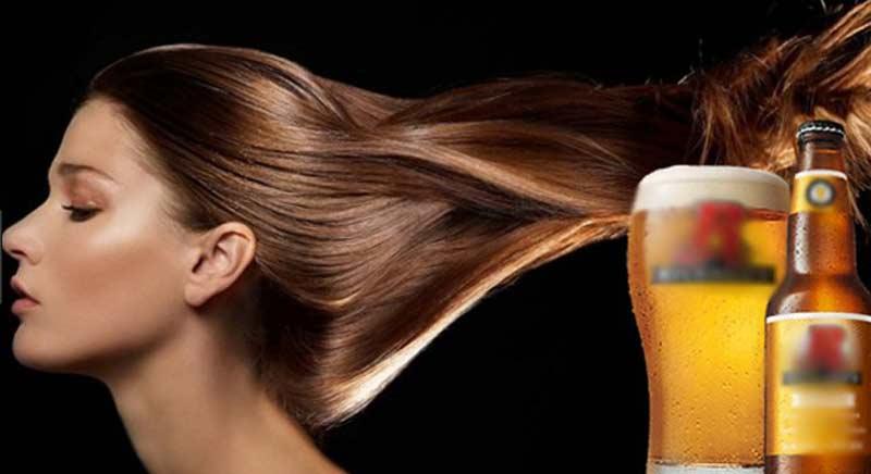 Chăm sóc tóc bằng cách sử dụng bia