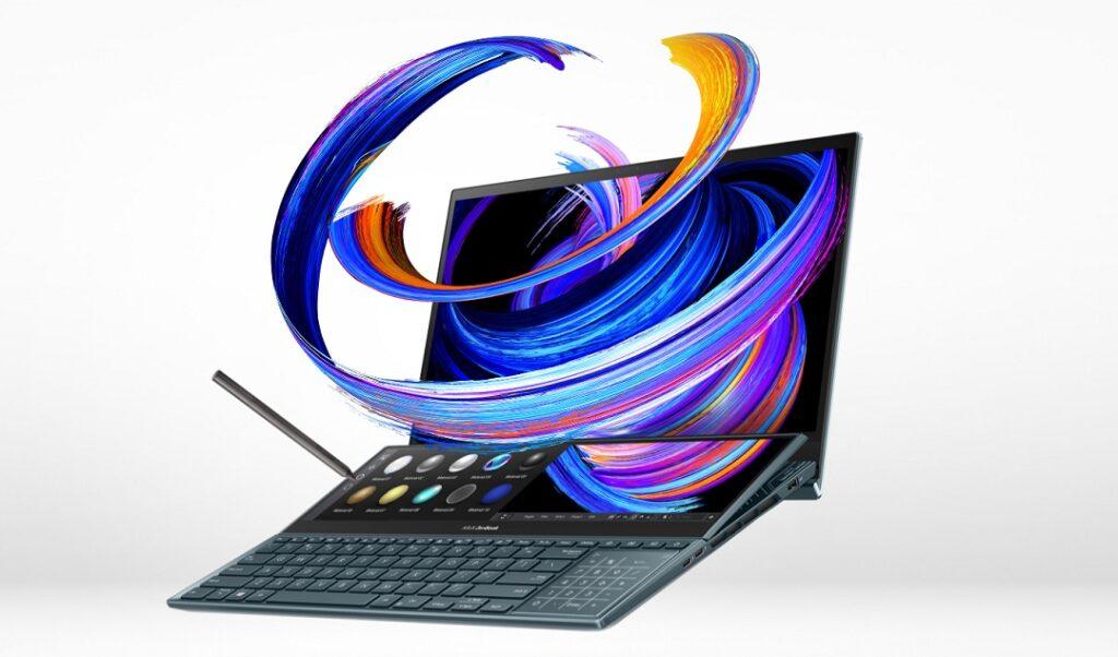 Ấn tượng với công nghệ màn hình kép độc đáo của dòng laptop Asus