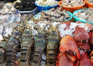 Chợ xóm lưới Vũng Tàu