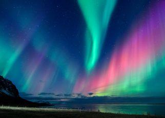 Chiêm ngưỡng cực quang tuyệt đẹp khi du lịch ở Phần Lan