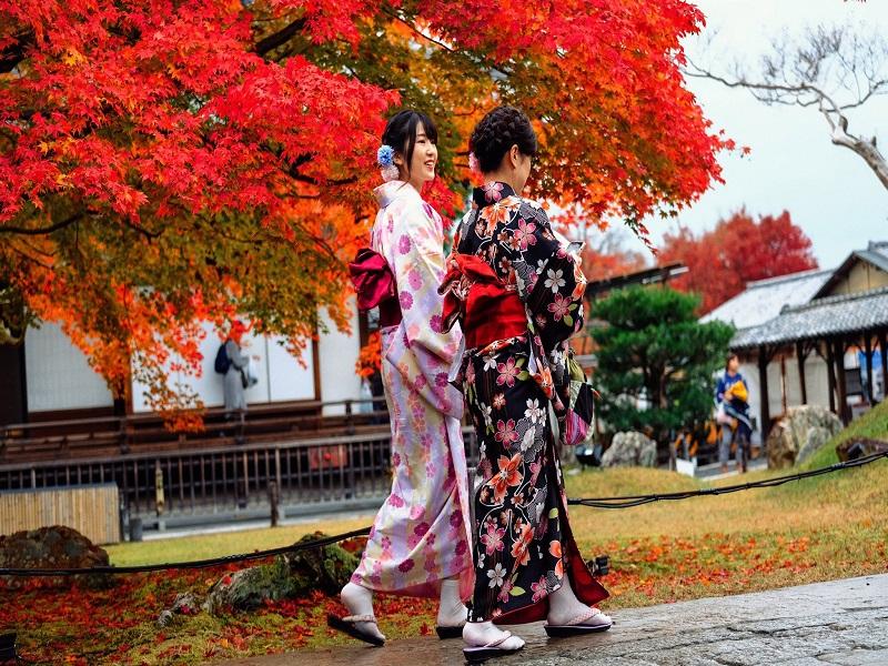 Khám phá vẻ đẹp làm say đắm lòng người của núi Phú Sĩ vào mùa thu