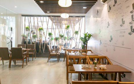 phong cách thiết kế quán cafe đẹp